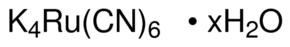 供应 六氰基钌(II)酸钾 水合物 英文名:Potassium hexacyanoruthenate(II) hydrate CAS号:339268-21-2 品牌:Aldrich