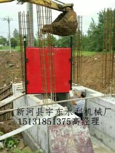 普通拱形平面铸铁闸门