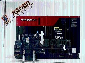 日产久保田动力20KVA小型柴油发电机