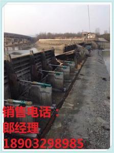 钢坝闸门 1.5*36米底横轴翻板闸门 产品图片