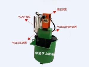 煤礦用氣動注漿泵