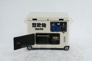 18KW静音汽油发电机外部结构,源自德国出品