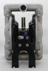 QGB-25/304不锈钢泵体氟橡胶膜片气动隔膜泵