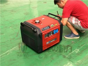 便携3KW数码变频发电机外形尺寸