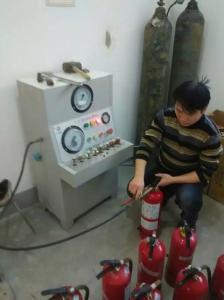 山西省灭火器氮气灌装机厂家,山西省灭火器打压设备厂家 产品图片