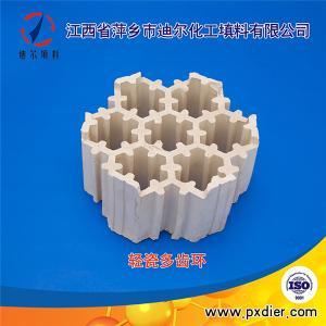 萍乡厂家XA-1轻瓷填料轻瓷多齿环产品图片