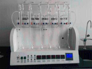 一体化蒸馏仪