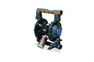 GRACO/固瑞克HUSKY1590一寸半DN40口徑耐腐蝕耐酸堿氣動雙隔膜泵自吸泵