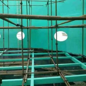 防腐玻璃鱗片施工圖片、廊坊萬騰防腐材料有限公司