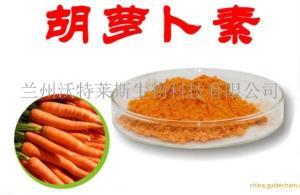 β-胡萝卜素96%含量 兰州沃特莱斯供应