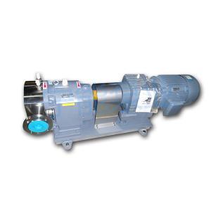 上海宁能保温冷却式不锈钢凸轮转子泵