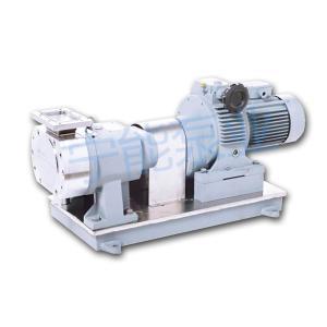 上海寧能V型進口式不銹鋼轉子泵