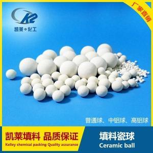 凯莱氧化铝瓷球 惰性氧化铝瓷球厂家