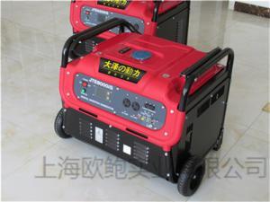 JTE8000IS大泽8kw数码变频发电机价格 产品图片