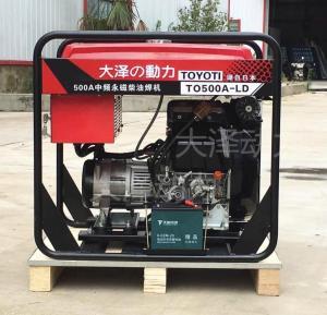 500A永磁中频柴油焊机组
