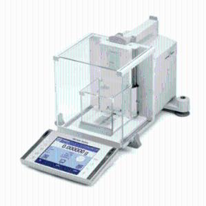 梅特勒十万分之一电子天平产品图片