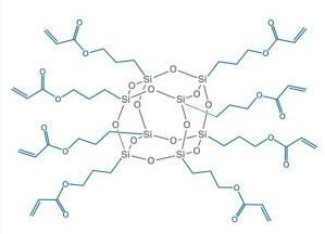 甲基丙烯基笼型倍半硅氧烷 MA0736 – Acrylo POSS Cage Mixture