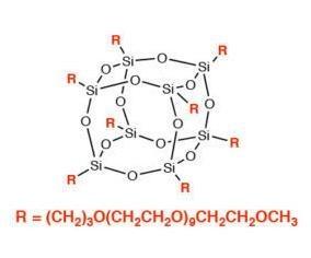 聚乙二醇笼型聚倍半硅氧烷 PG1190 – PEG POSS Cage Mixture