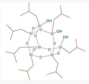 三硅醇基异丁基笼型聚倍半硅氧烷 SO1450 – TriSilanollsobutyl POSS