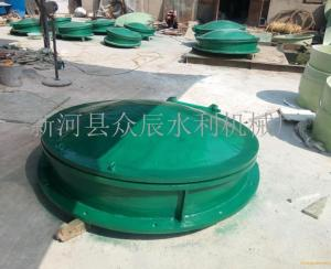 玻璃钢拍门厂家|河北玻璃钢拍门新河县众辰水利机械