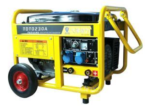 焊接工程用190A汽油发电电焊机