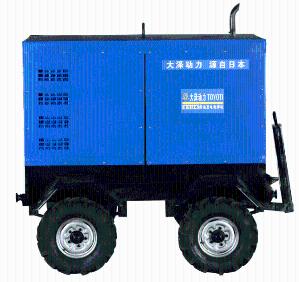 三相500A柴油发电电焊机价格 产品图片