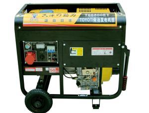 可连续工作250A柴油发电焊机