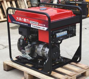 户外施工专用柴油发电焊机组
