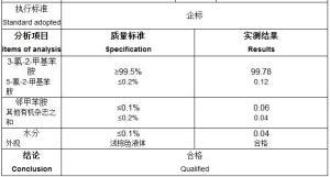 3-氯-2-甲基苯胺厂家除草剂原料  87-60-5