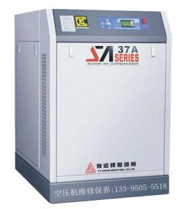 永春螺桿機品牌代理商,福建復盛55KW紡織行業專用空壓機