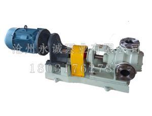 NYP高粘度轉子泵機械密封和填料密封有兩種形式