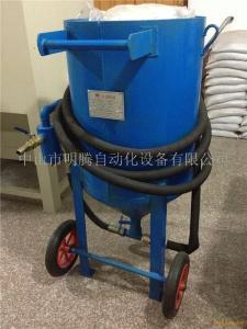 水泥罐泥头车高效除锈除水泥喷砂机