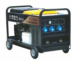 单缸便携式300A汽油发电电焊机
