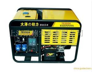 山区用300A单缸柴油发电电焊机报价