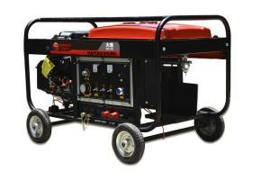 本田350A汽油发电电焊一体机,氩弧焊机