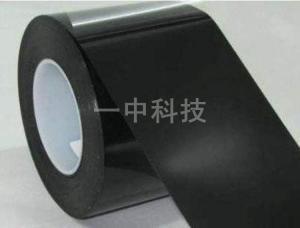 黑色麦拉单面带胶 黑色麦拉单面胶带 批发