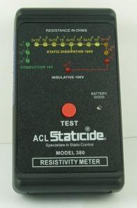 美国原装ACL-380手持表面电阻测试仪 原装进口ACL380静电测试仪 经济型表面电阻测试ACL-380产品图片