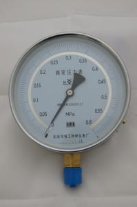 精密壓力表陽泉市精工特種儀表廠YB150