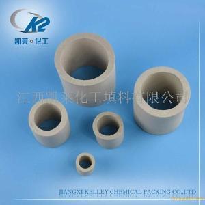现货供应 陶瓷拉西环 可定制 冷却塔干燥塔填料