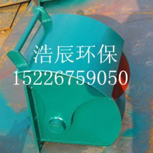 軍工品質電液動扇形閥 扇形閘門 電液動腭式閥-安裝圖