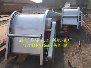 回转式格栅除污机配套螺旋输送机螺旋压榨机