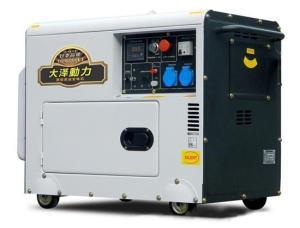 大电流静音12KW柴油发电机/车载用静音发电机