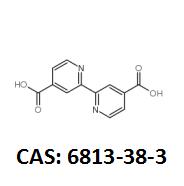 2,2'-联吡啶-4,4'-二甲酸 CAS:6813-38-3 现货厂家 黄金产品