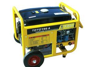 一机两用190A汽油发电电焊一体机