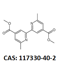6,6'-二甲基-2,2'-联吡啶-4,4'-二甲酸甲酯 CAS:117330-40-2 现货厂家 黄金产品