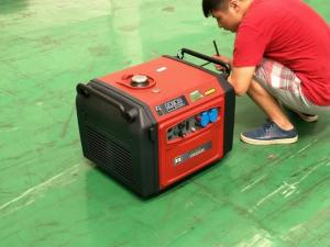 静音3kw数码变频发电机车载专用