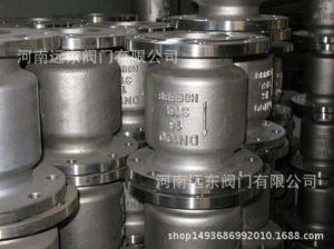 河南銷售H42W-16P不銹鋼立式止回閥