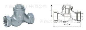 河南批發H11W不銹鋼升降式止回閥