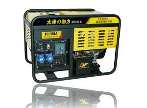 马力足300A柴油发电焊机,大泽原装发电焊机