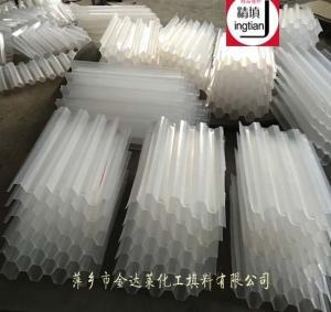 塑料蜂窝斜管填料 乙丙共聚斜管填料 PP聚丙烯斜(直)管填料